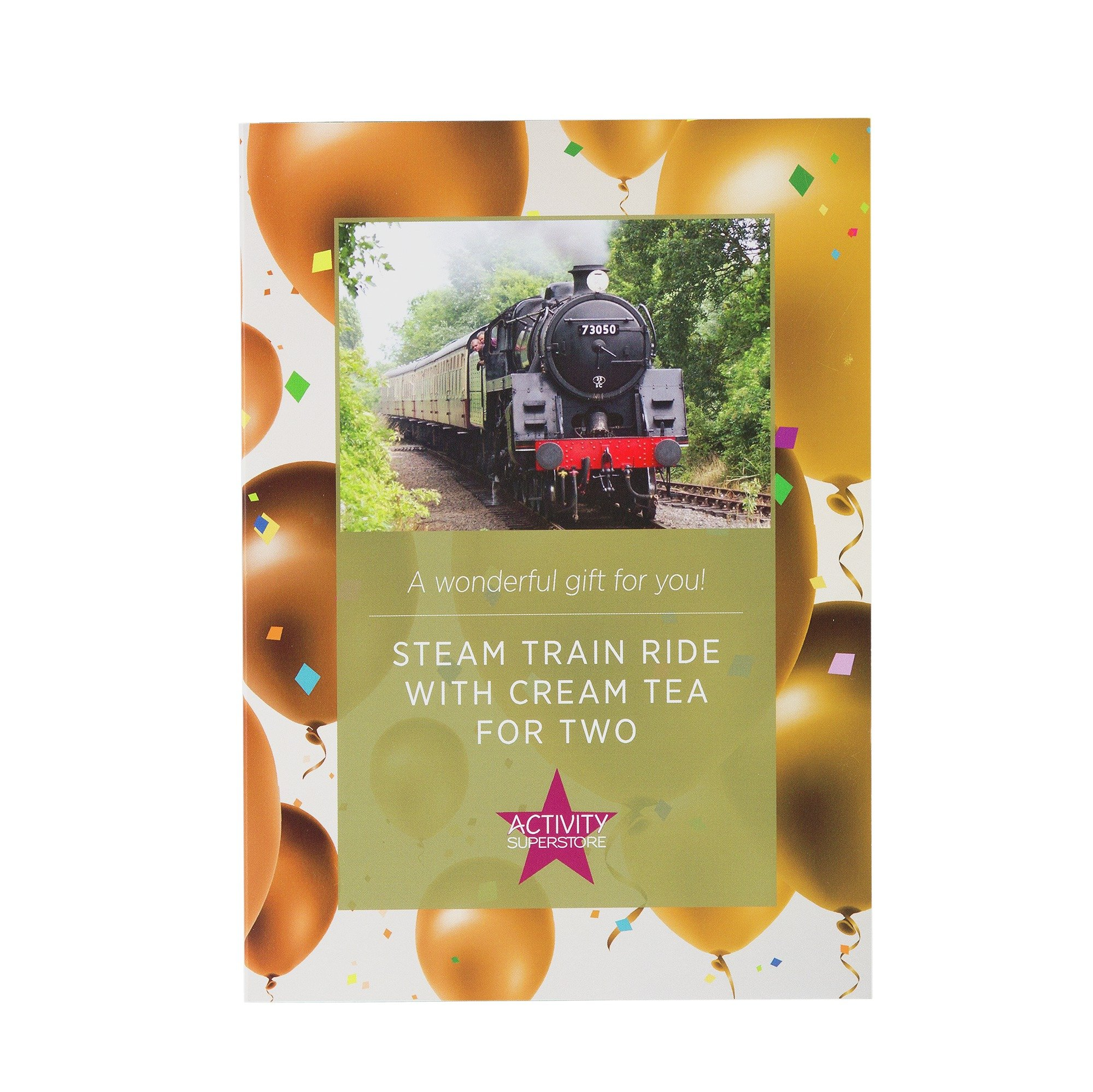 Steam Train Ride For Two With Cream Tea - Experience