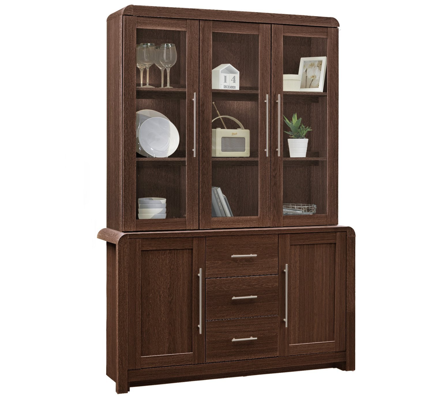 display cabinets and glass cabinets page 1 argos price. Black Bedroom Furniture Sets. Home Design Ideas