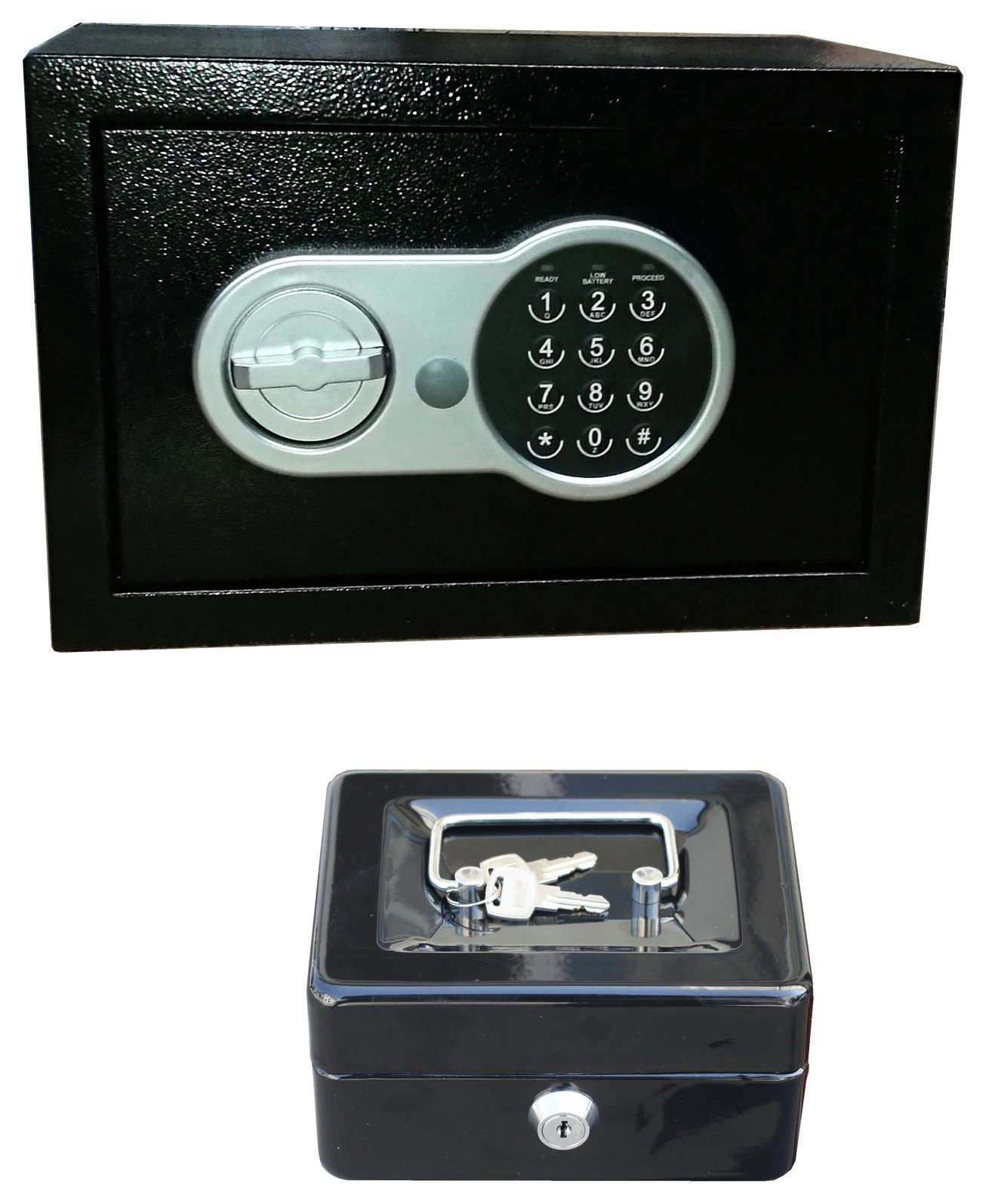 Compact Digital Safe and Cash Box