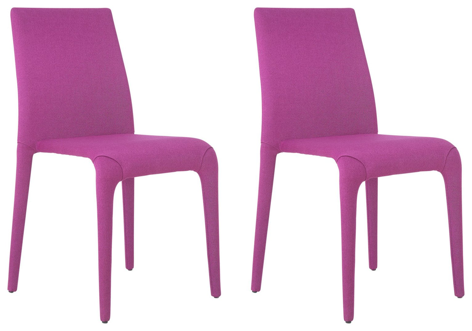 Buy Hygena Otto Pair of Chairs Pink at Argoscouk Your Online