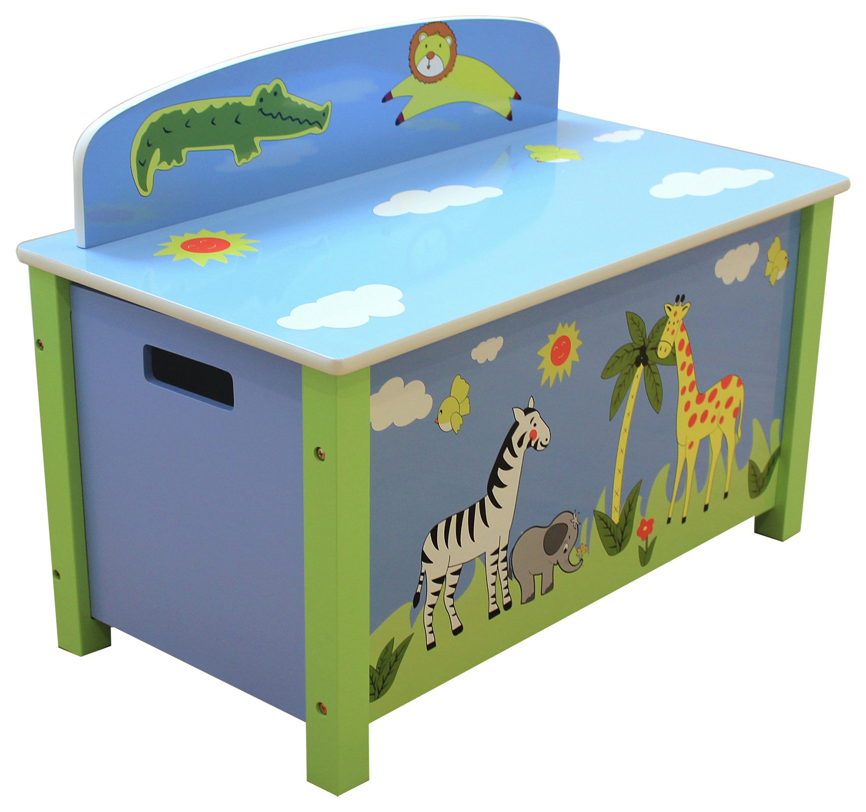Liberty House Safari Large Toy Box.