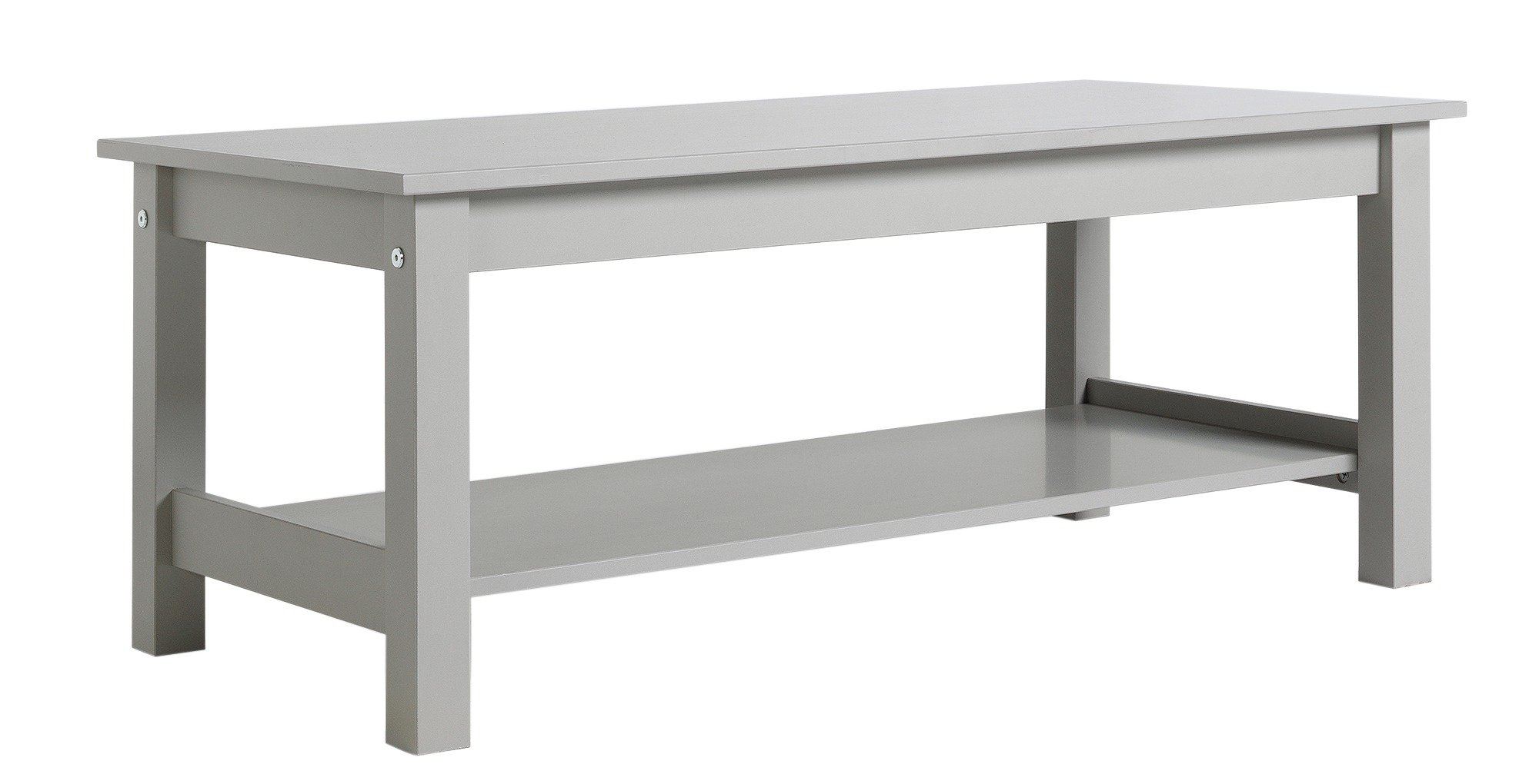Buy Collection Osaka 1 Shelf Coffee Table Grey Coffee tables