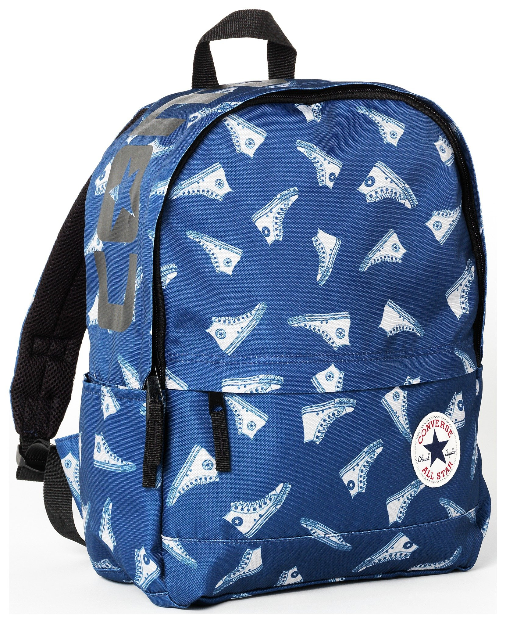 Image of Converse - Blue and White Trainer Print Backpack