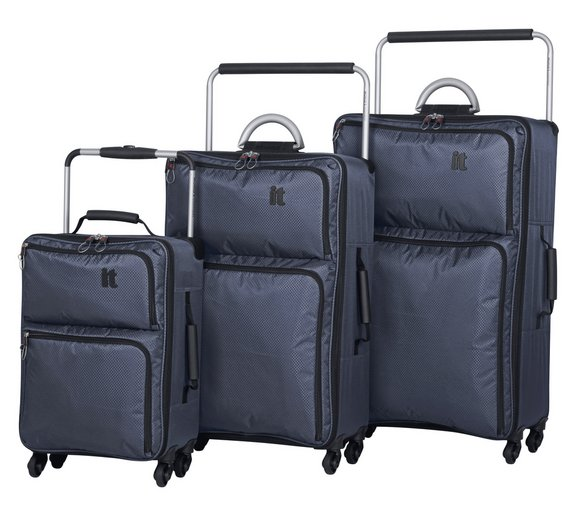 Buy IT Luggage World's Lightest Large 4 Wheel Suitcase at Argos.co ...