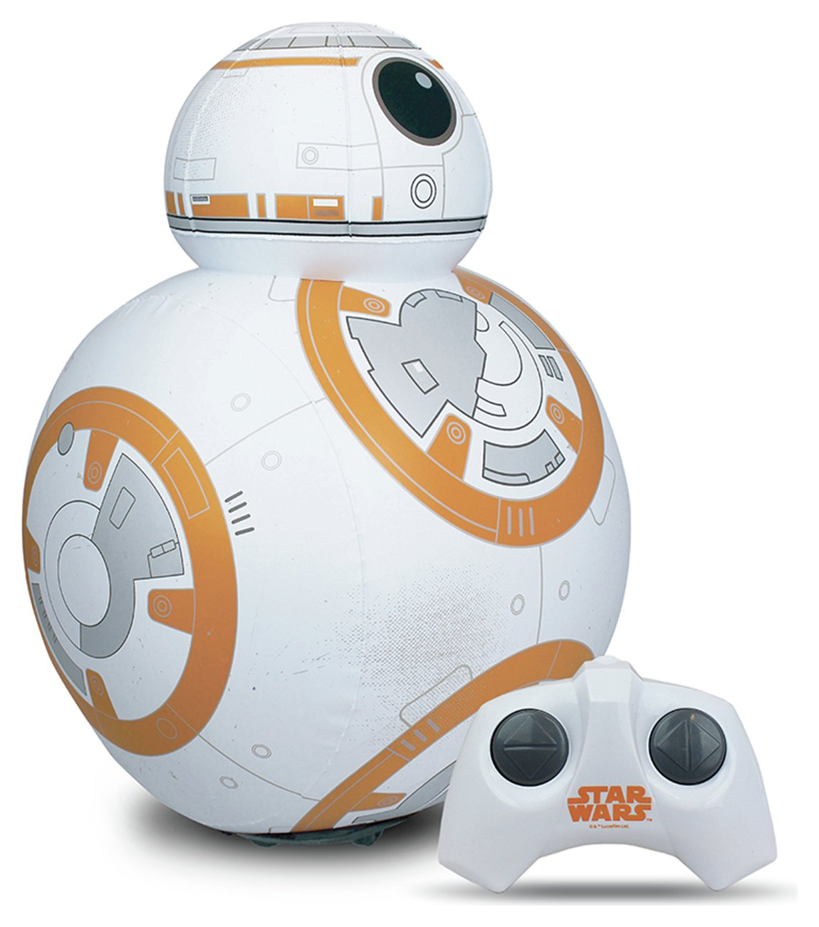 Image of Disney Star Wars Radio Controlled Inflatable BB8 with Sound