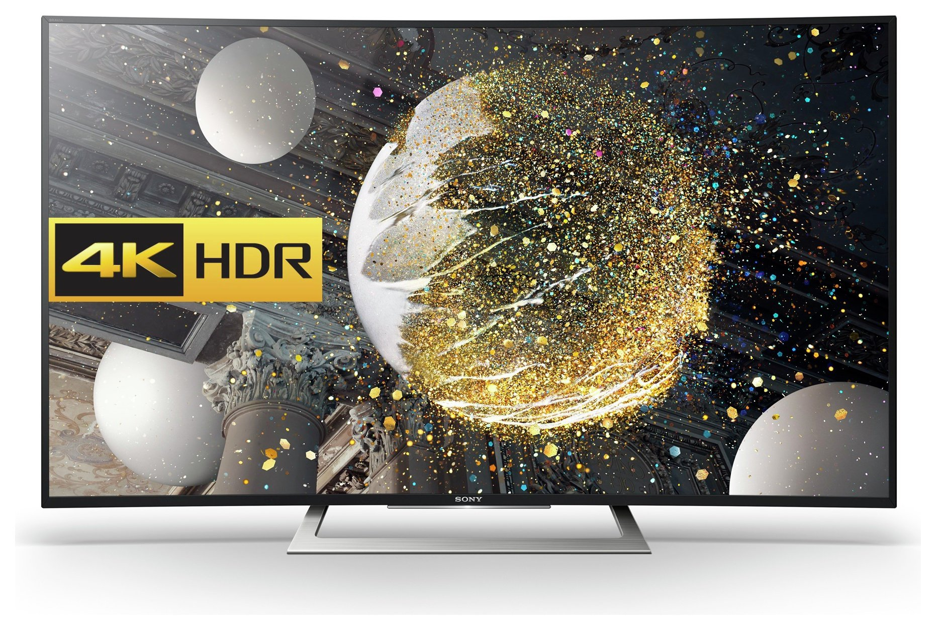 Sony - 50 Inch - KD50SD8005 - Android 4K HDR Ultra HD Curved TV.