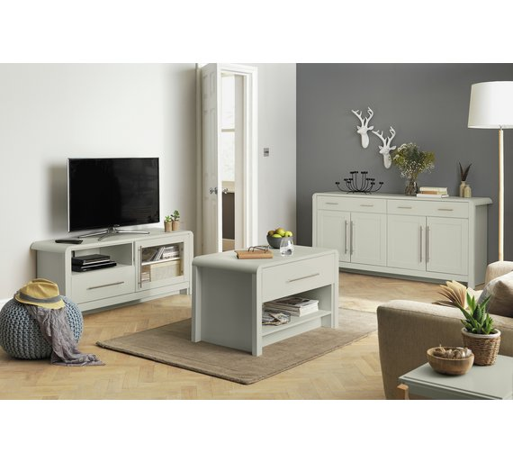 Buy Heart Of House Elford 3 Piece Living Room Pack Grey