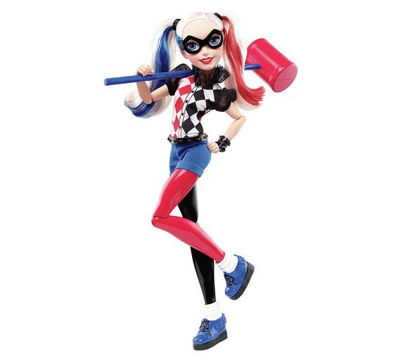 Image of DC Super Hero Girls Harley Quinn 12 inch Action Doll
