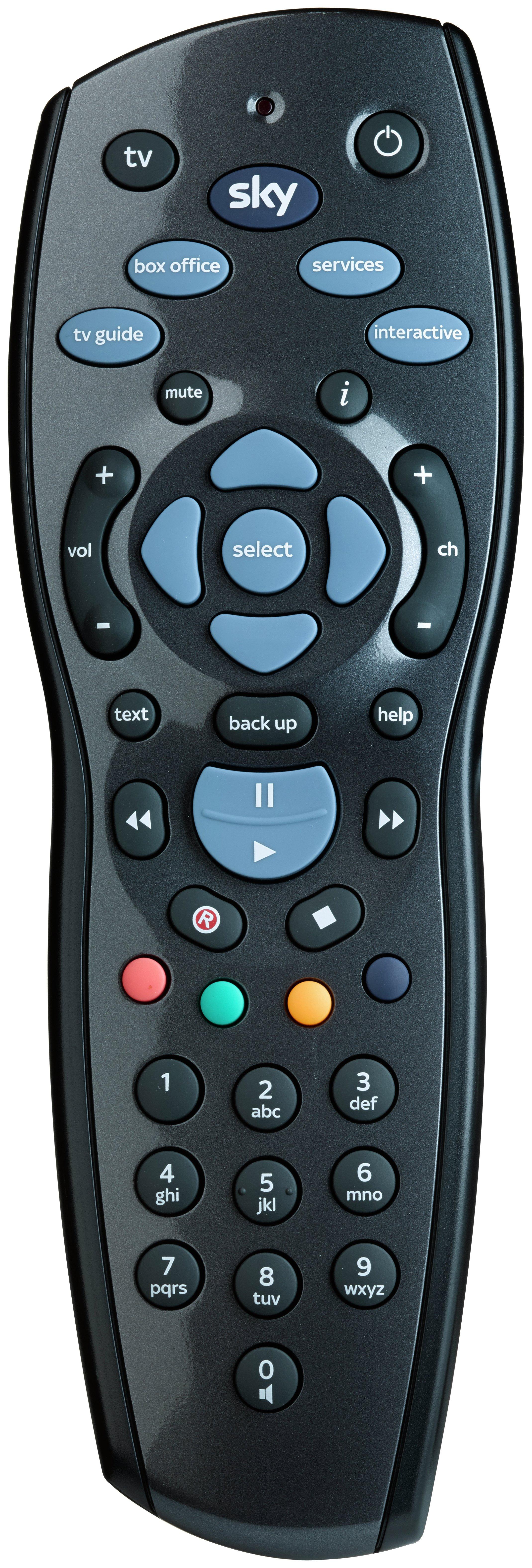 Sky+ HD 1TB Remote Control.