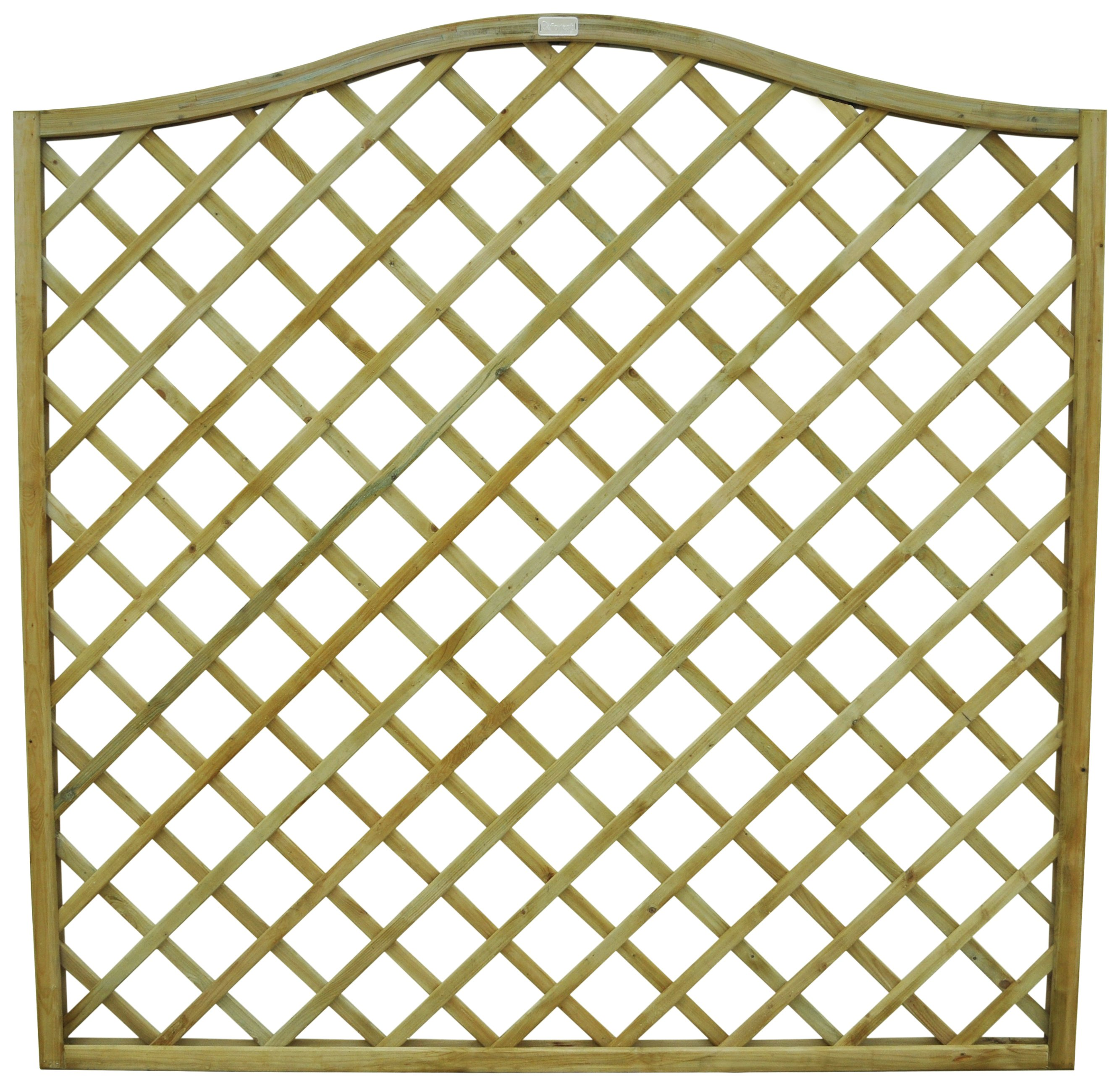 Forest Hamburg Large Garden Screen - Pack of 4. lowest price