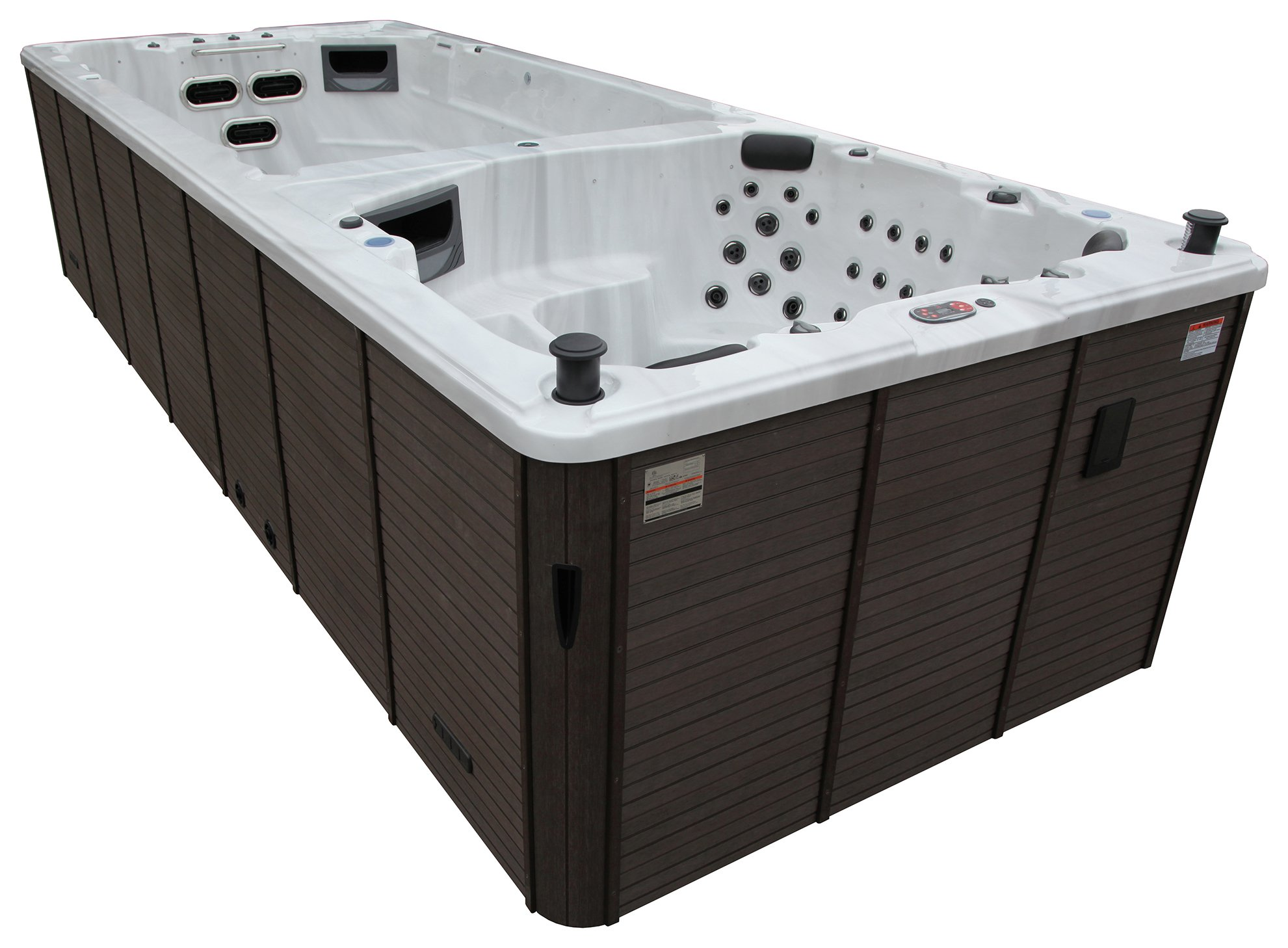 Canadian Spa Company St Lawrence 20ft Swim Hot Tub