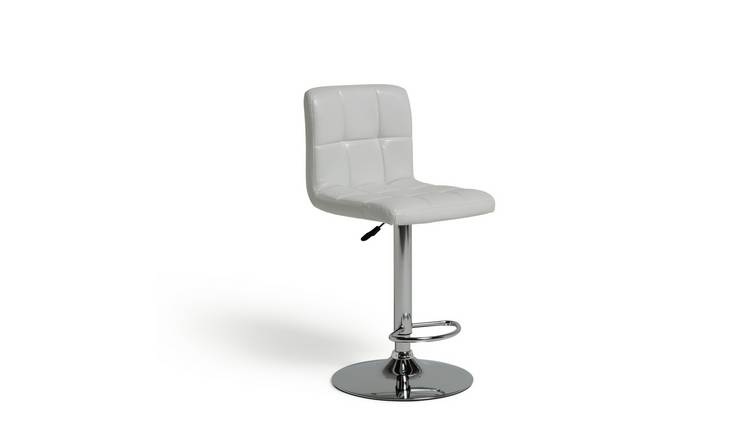 Argos Home Nitro Bar Stool - White