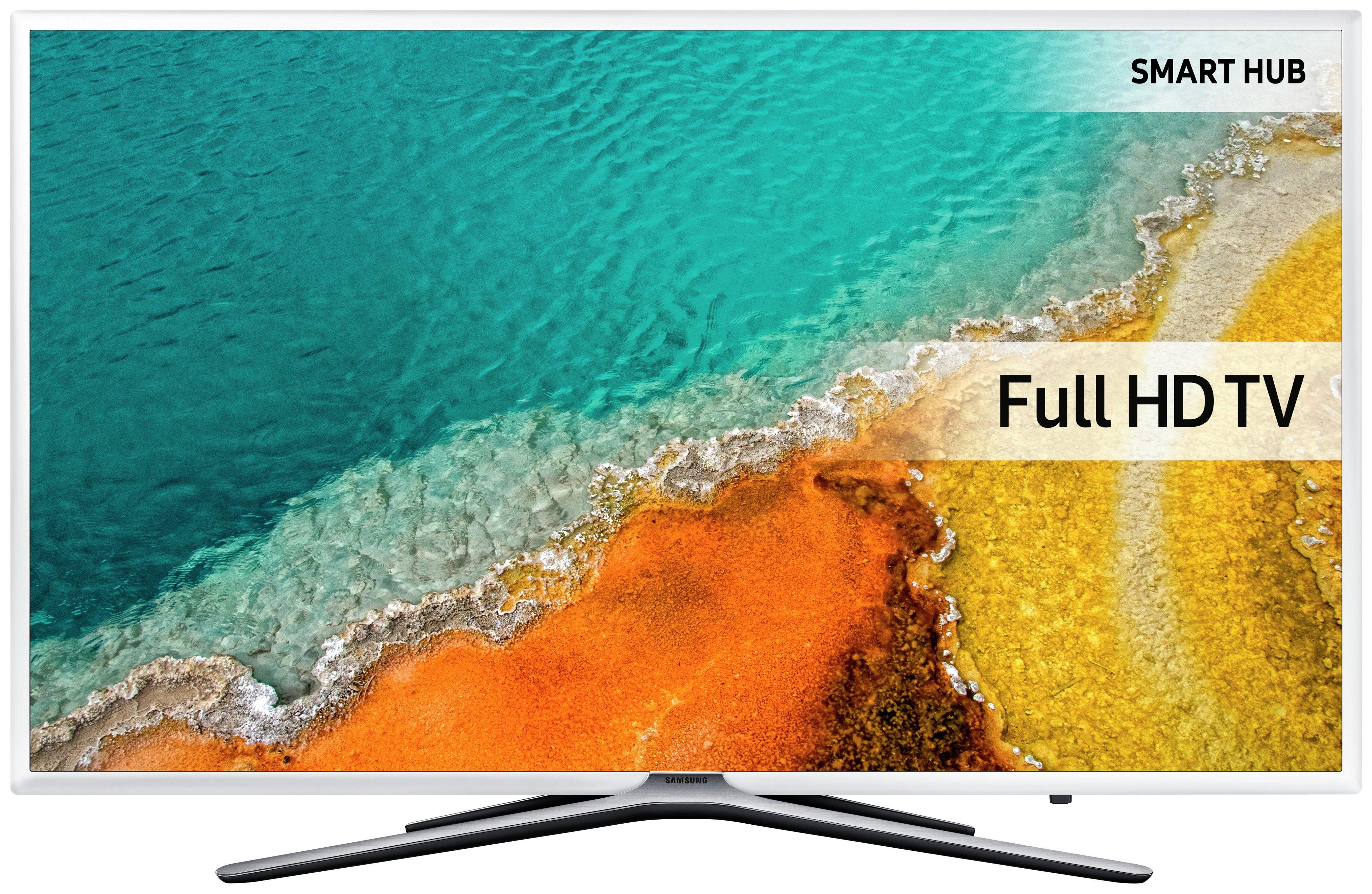Samsung - 49 Inch - UE49K5510 - Full HD - Smart LED TV. - White