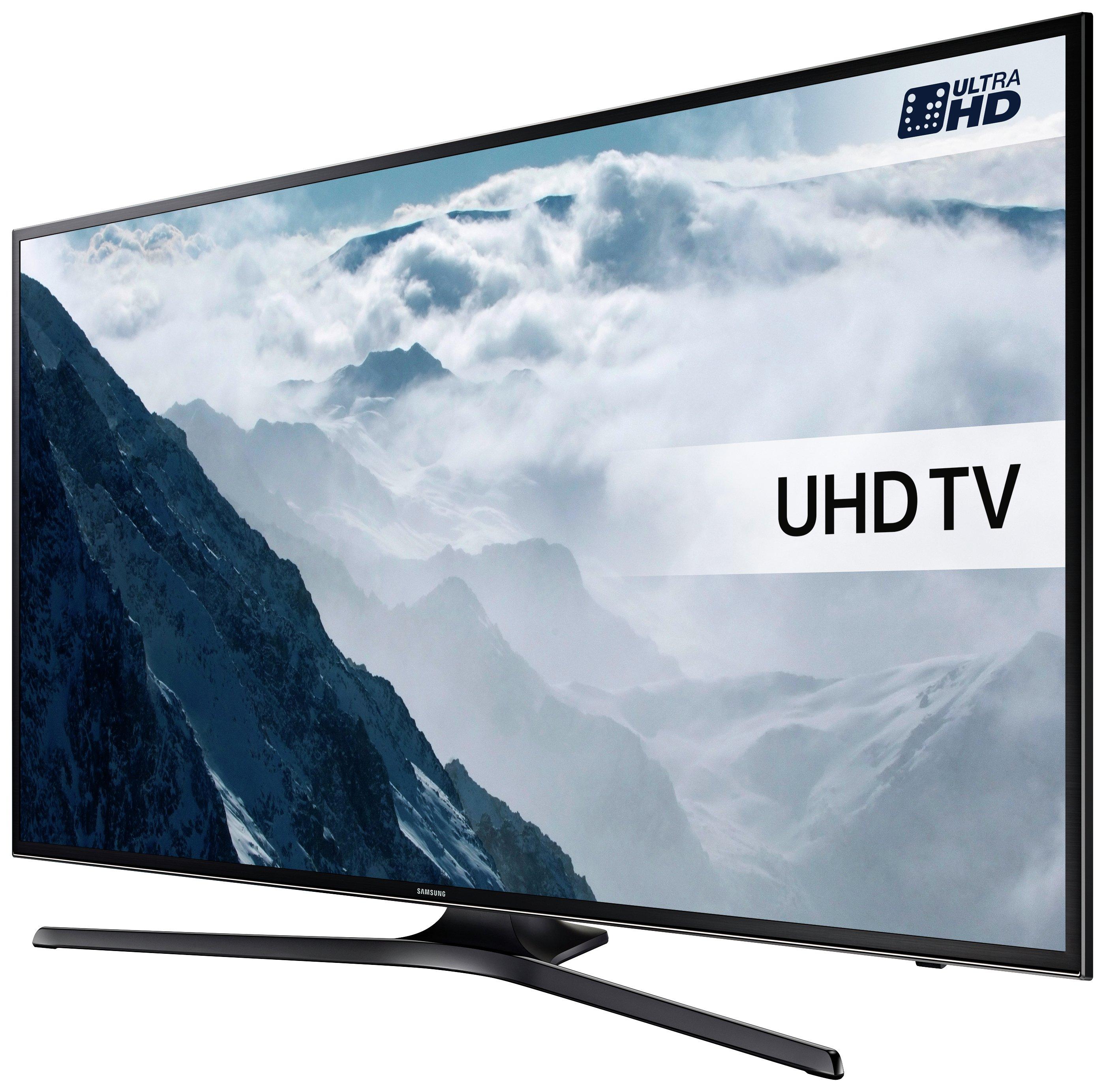 Samsung UE50KU6000 50 Inch UHD HDR Smart LED TV. - Black