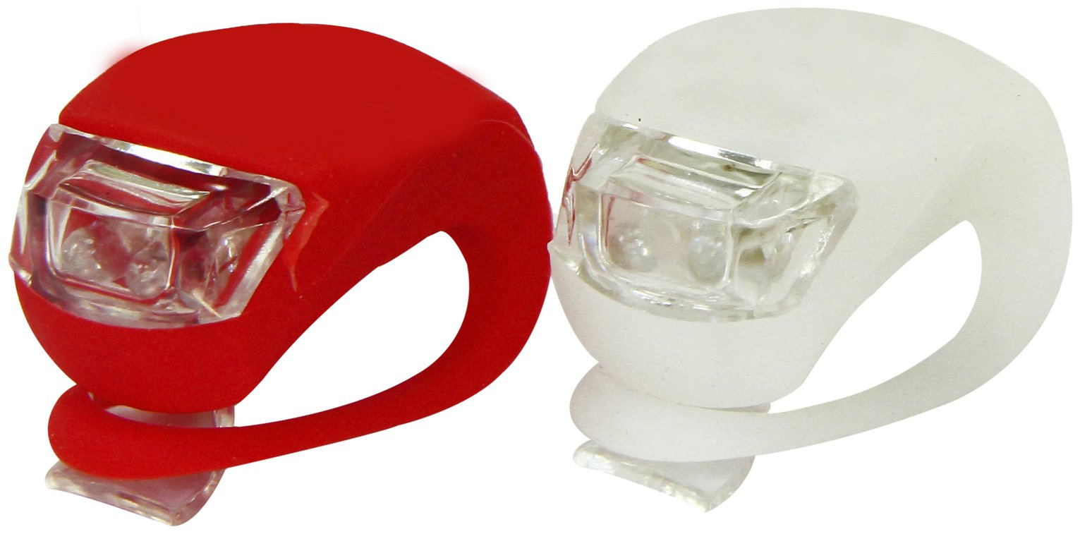 Challenge 2 Piece Silicone Bike Light