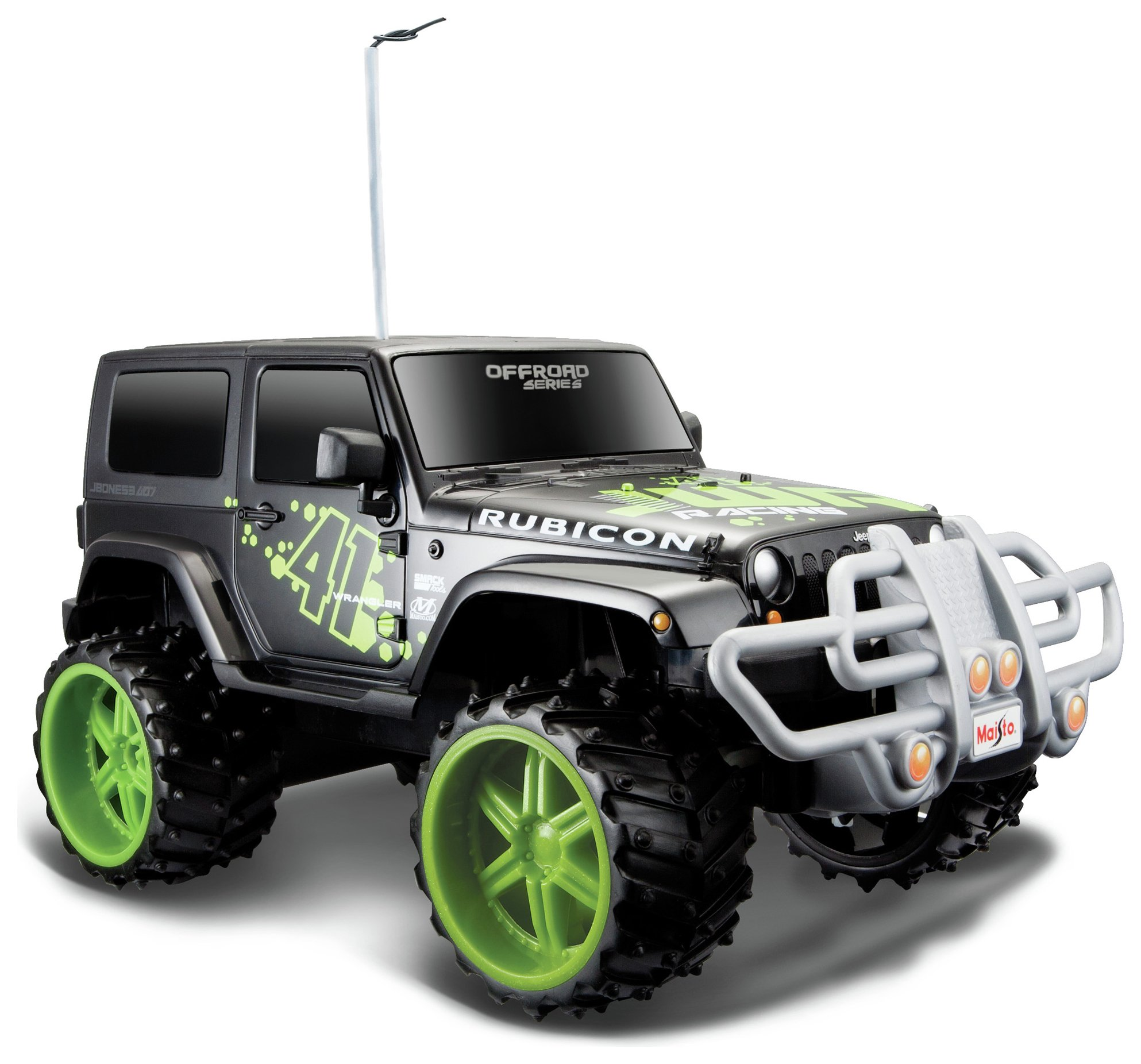 Image of 1:16 RC Jeep Wrangler Rubicon.