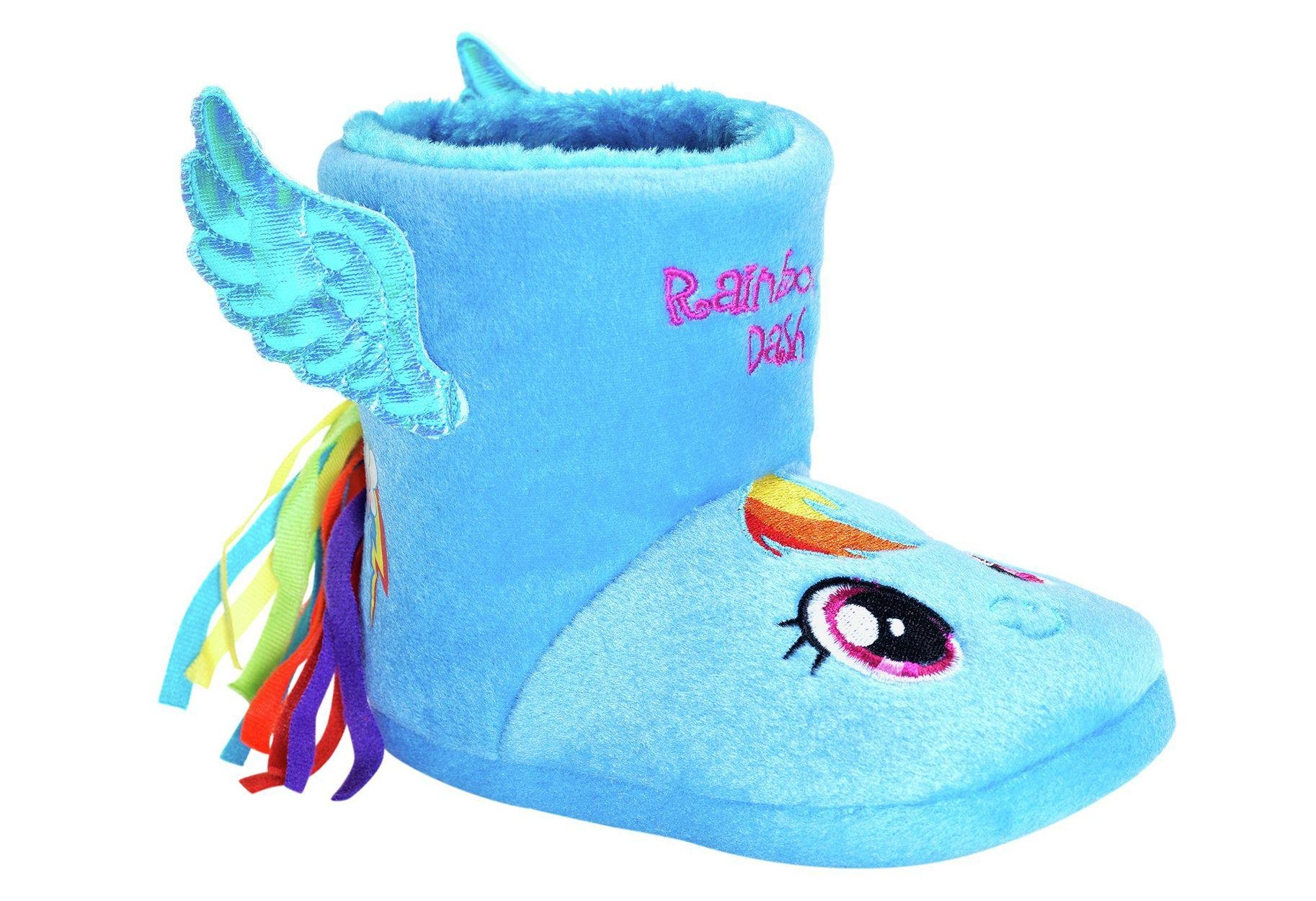 Image of My Little Pony Slipper Boots - Size 10
