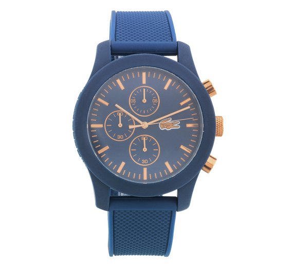 buy lacoste men s 12 12 silicone strap watch at argos co uk your lacoste men s 12 12 silicone strap watch539 7440