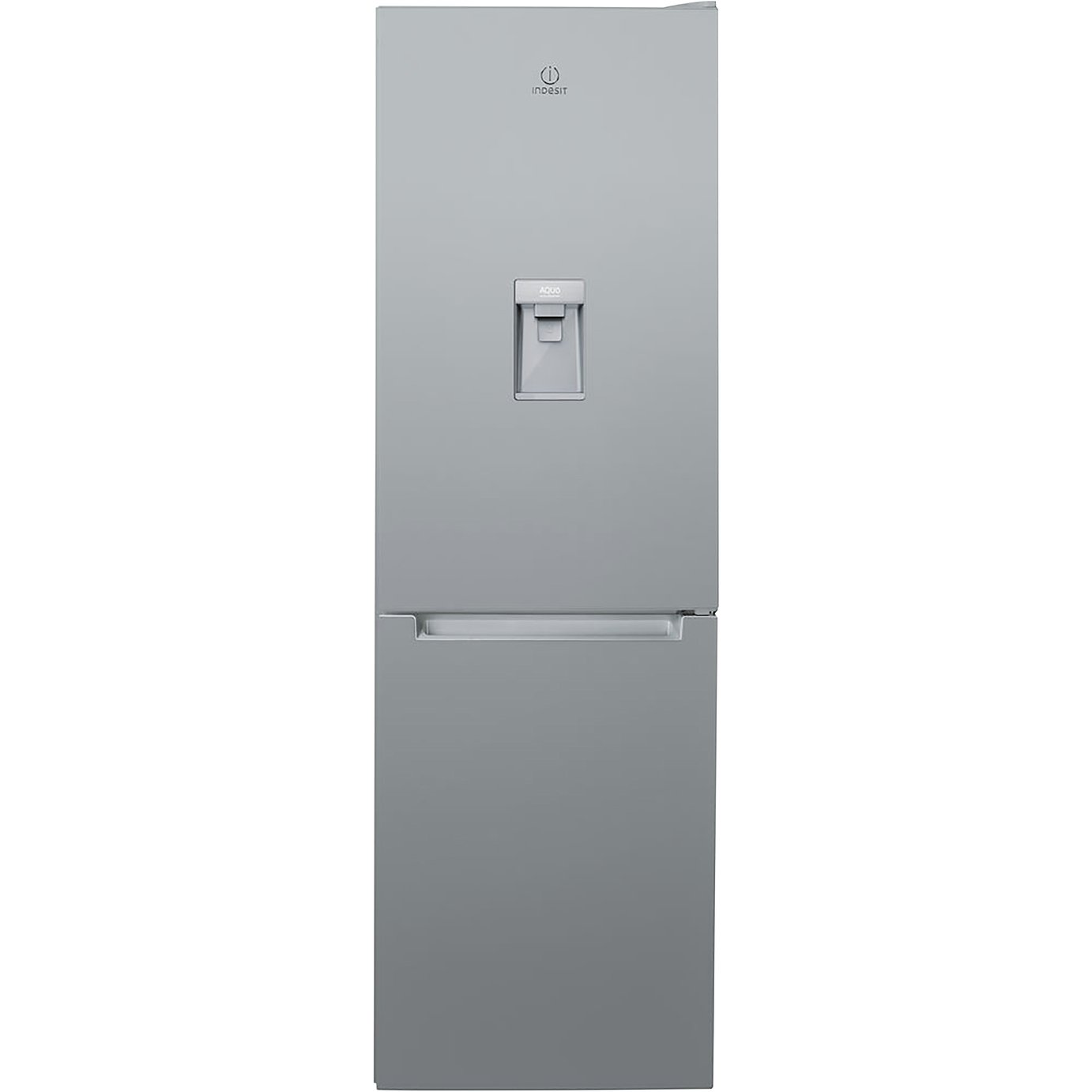 Indesit LR8S1SAQ Fridge Freezer - Silver