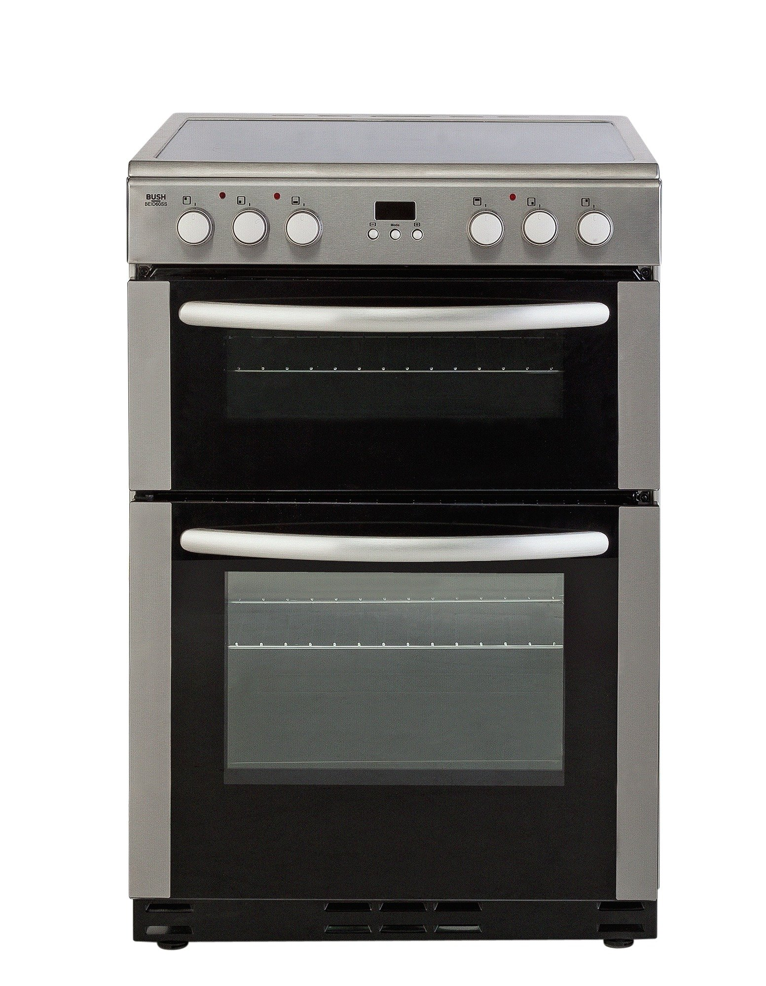 bush beid60ss electric cooker stainless steel review. Black Bedroom Furniture Sets. Home Design Ideas