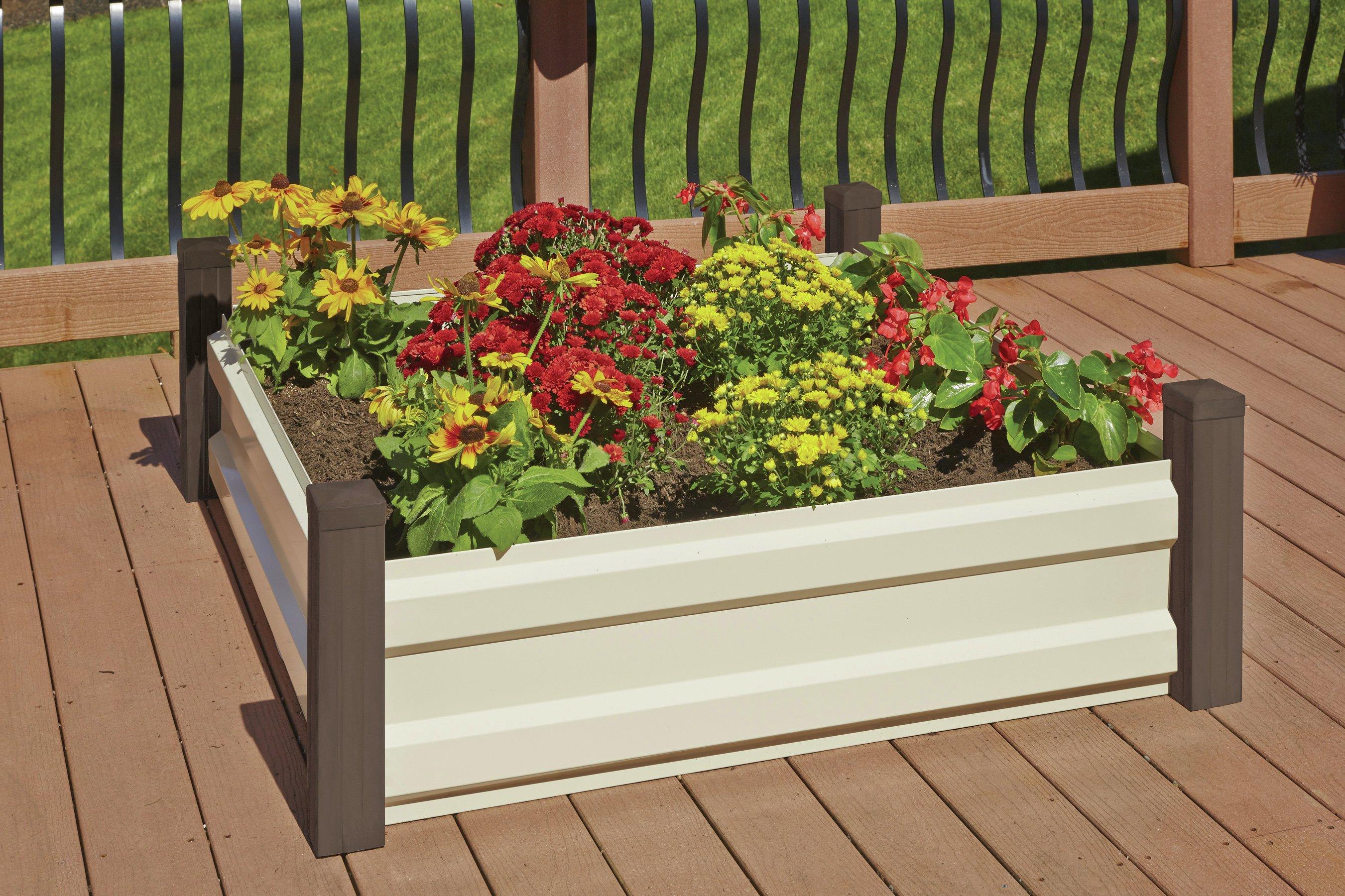 4x4 Metal Raised Bed Garden. lowest price