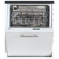 Bush - DWINT125W Integrated - Full Size Dishwasher - White
