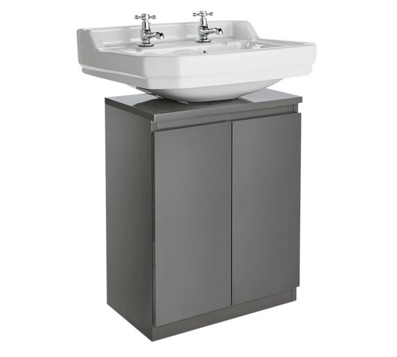 Buy Hygena Gloss Undersink Storage Grey At Argos Co Uk Your