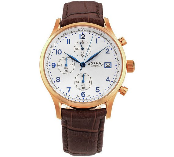 buy rotary men s rose gold plated strap watch at argos co uk rotary men s rose gold plated strap watch540 8975