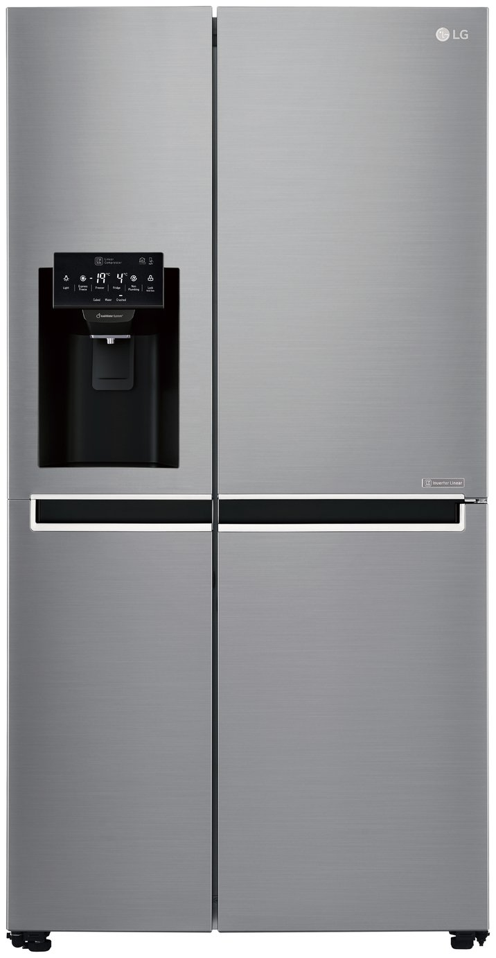 LG GSL761PZXV American Fridge Freezer - Stainless Steel Best Price, Cheapest Prices