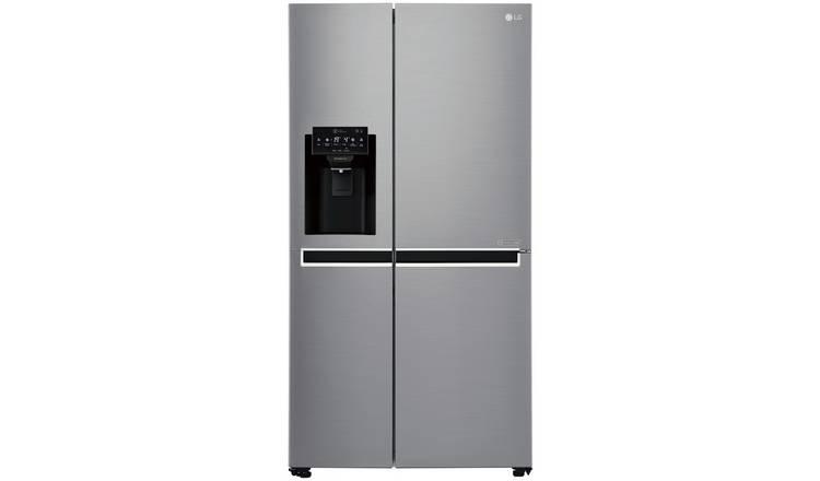 Buy LG GSL761PZXV American Fridge Freezer - Stainless Steel | Fridge  freezers | Argos