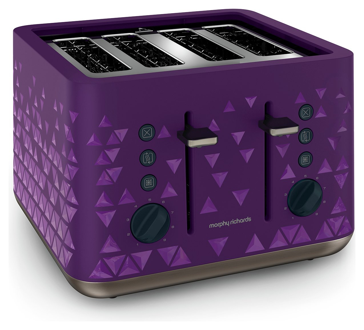 Morphy Richards - Toaster - Prism Toaster -Plum.