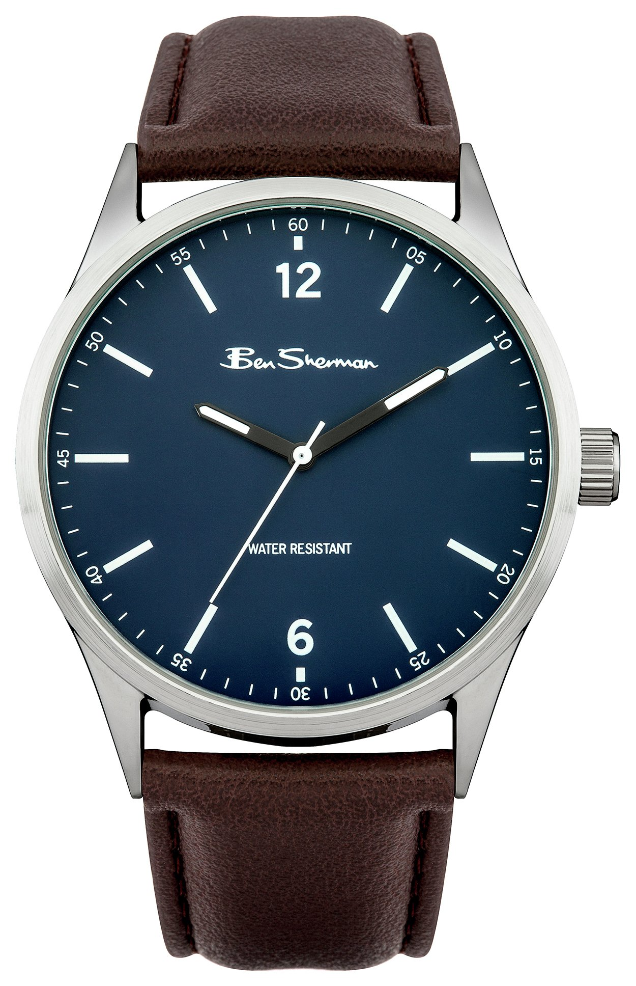 Ben Sherman Men's Brown Strap Watch Gift Set