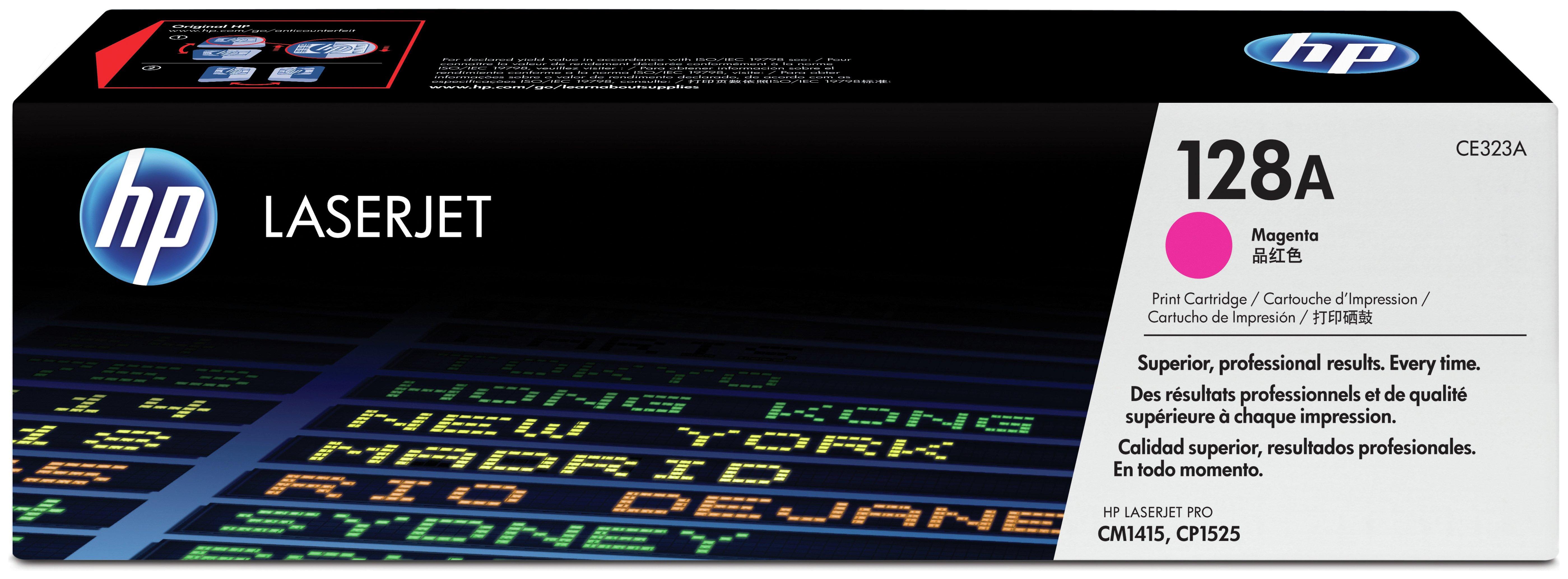HP - 128A Magenta LaserJet - Toner Cartridge (CE323A)