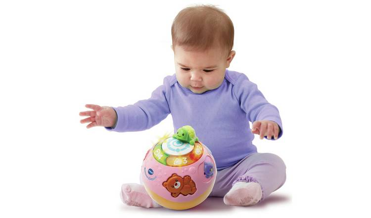 VTech Crawl and Learn Ball - Pink
