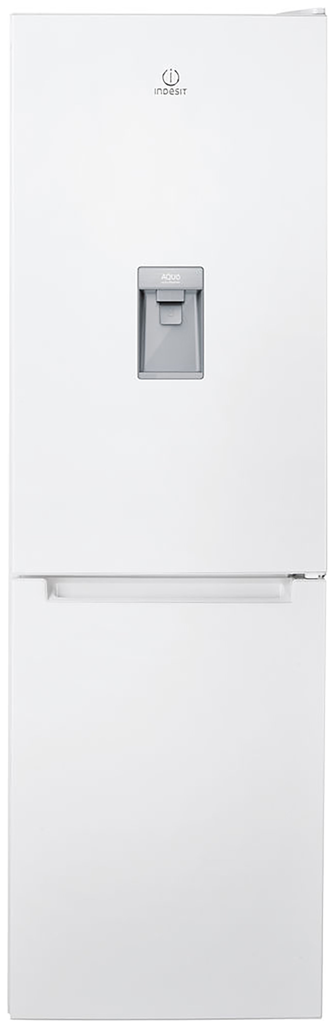 Indesit LR8 S1 W AQ Fridge Freezer - White Best Price and Cheapest