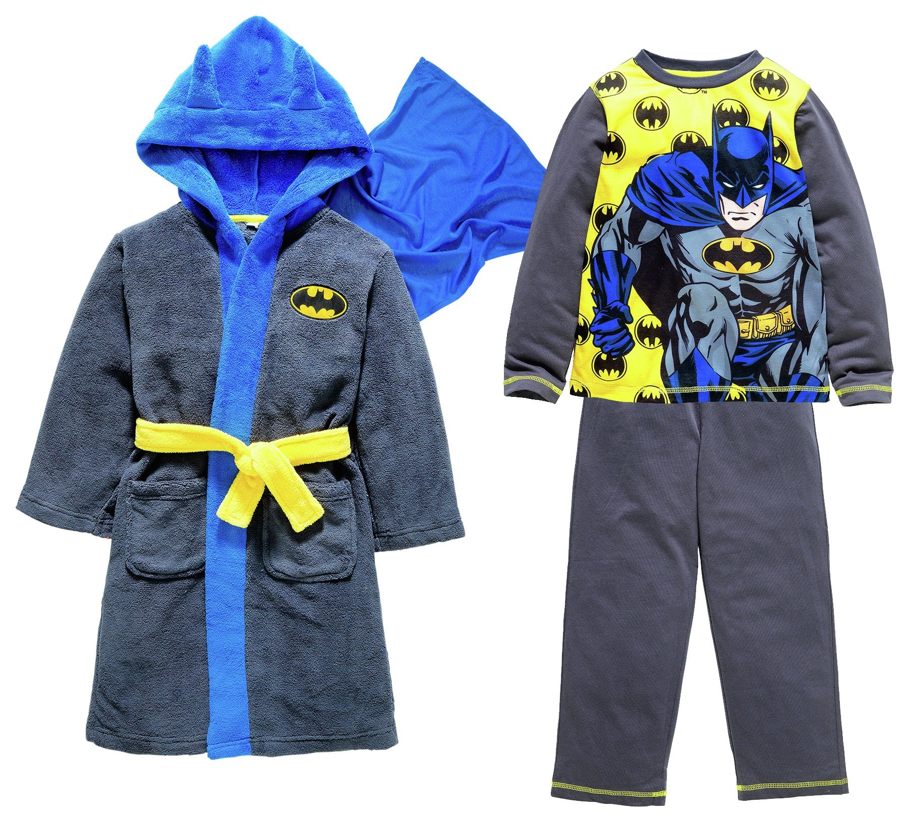 Image of Batman - Robe and - Pyjamas - 5-6 Years