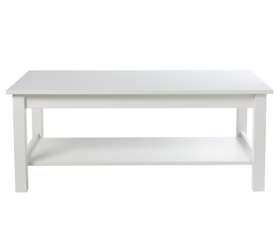 Buy Argos Home Osaka Shelf Coffee Table White Coffee Tables - Osaka coffee table
