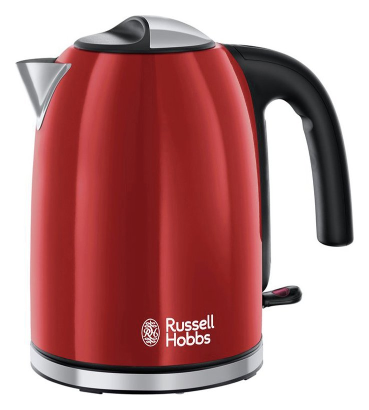 Russell Hobbs 20412 Colours Plus S/Steel Jug Kettle - Red