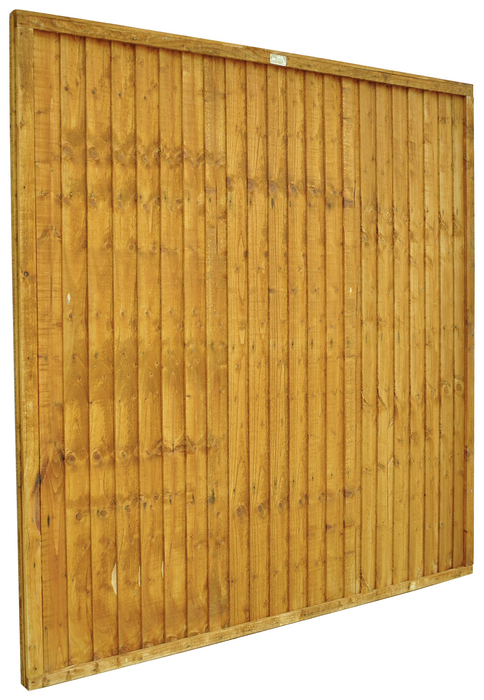 Forest 1.8m Heavy Duty Closdeboard Fence Panel - Pack of 9. lowest price