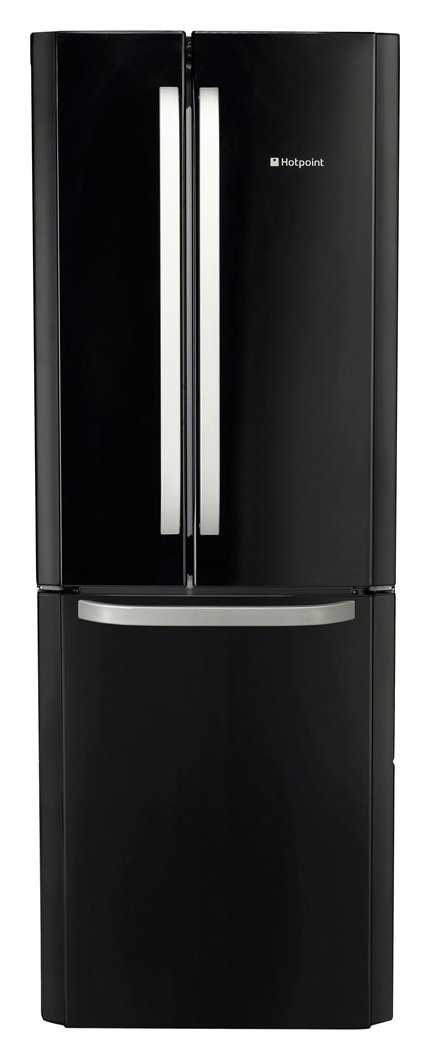 Hotpoint FFU3DGK Frost Free Fridge Freezer - Black