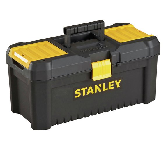 701d6fec4 Herramientas Stanley caja de herramientas esenciales de 16 pulgadas a mano  gracias a este Stanley 16 pulgadas