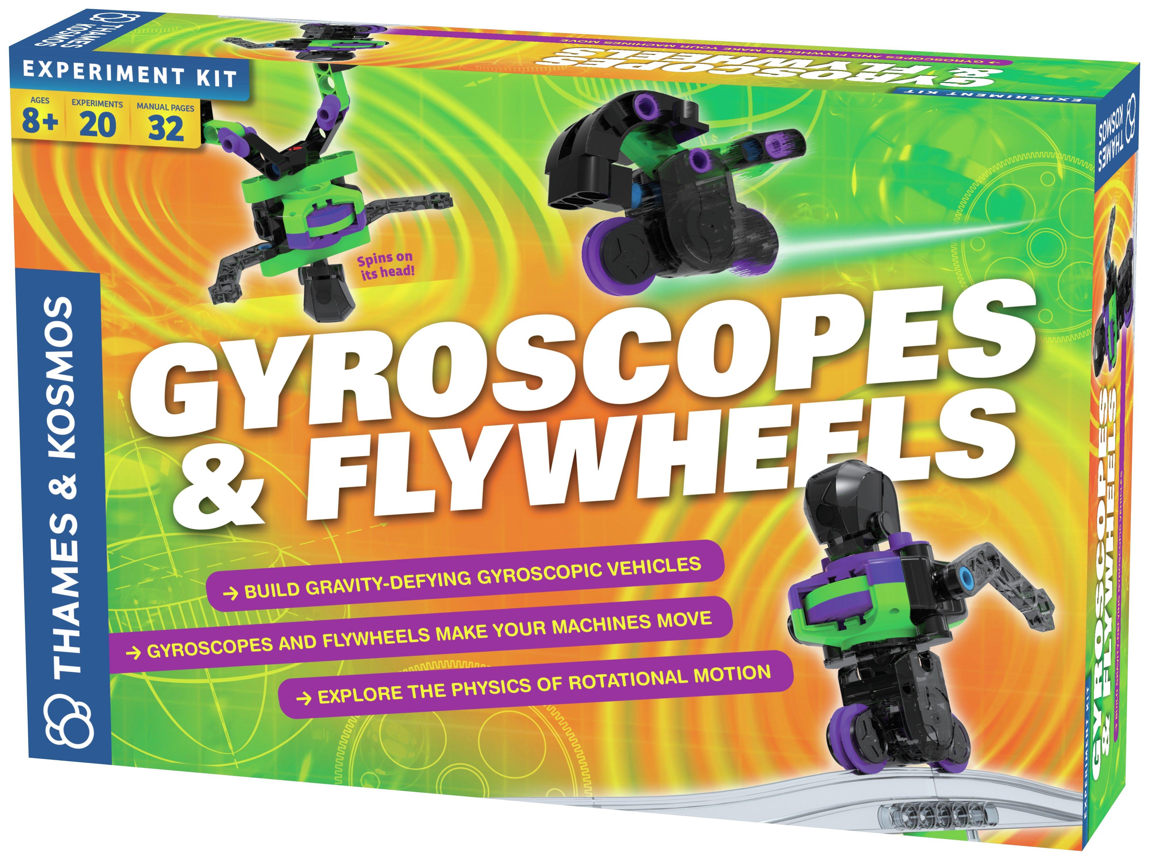 Thames And Kosmos Gyroscopes And Flywheels Kit.