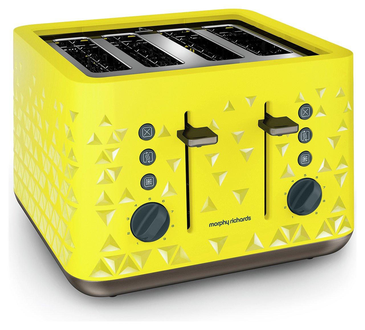 Morphy Richards - Toaster - Prism Toaster -Yellow.