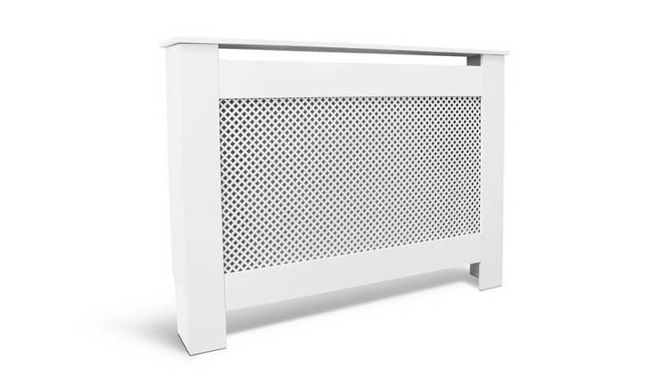 Habitat Odell Small Radiator Cover - White