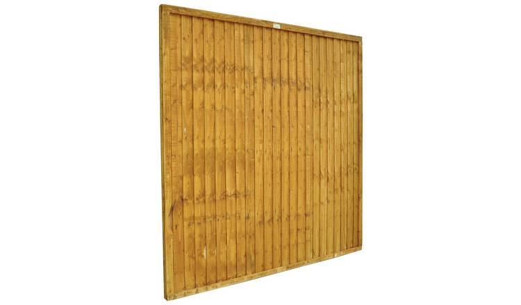 Forest 6ft (1.83m) Closeboard Fence Panel - Pack of 4