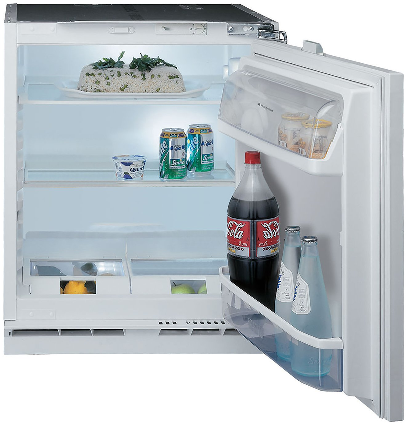Hotpoint HL A1 Integrated Fridge - White