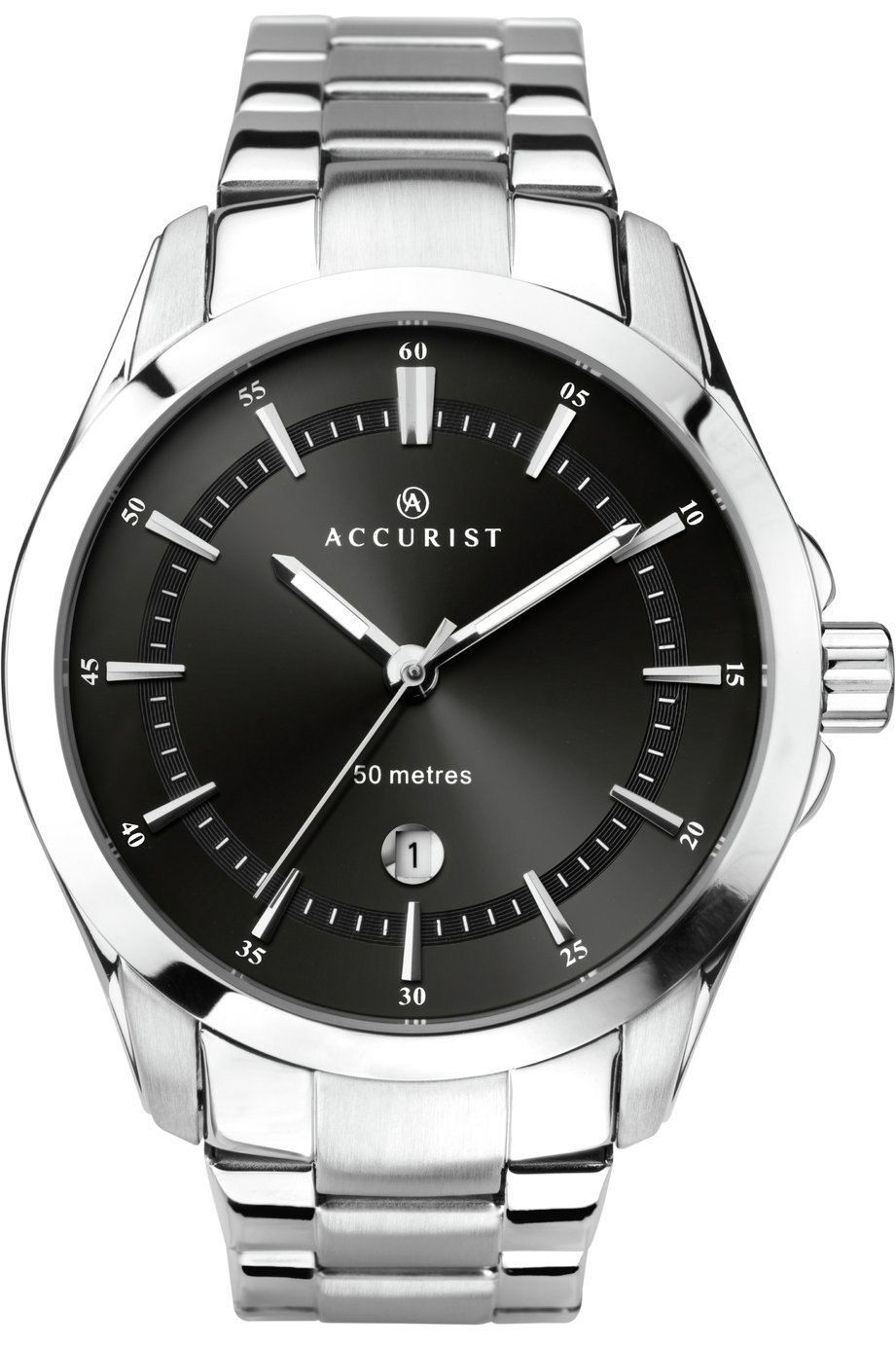 Accurist Men's Stainless Steel Bracelet Watch