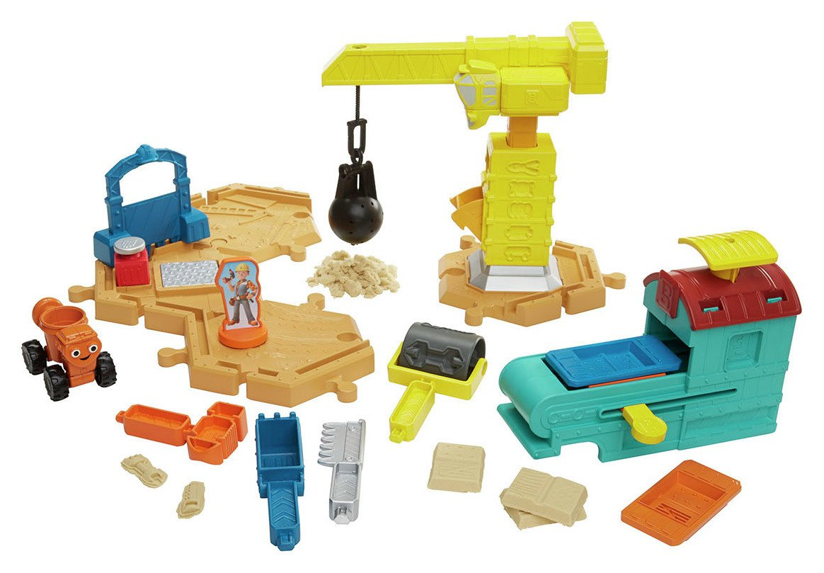 Image of Bob the Builder Mash & Mould Constrution Site Playset