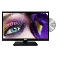 Alba 19'' 720p HD Ready Black LED TV with Built-In DVD