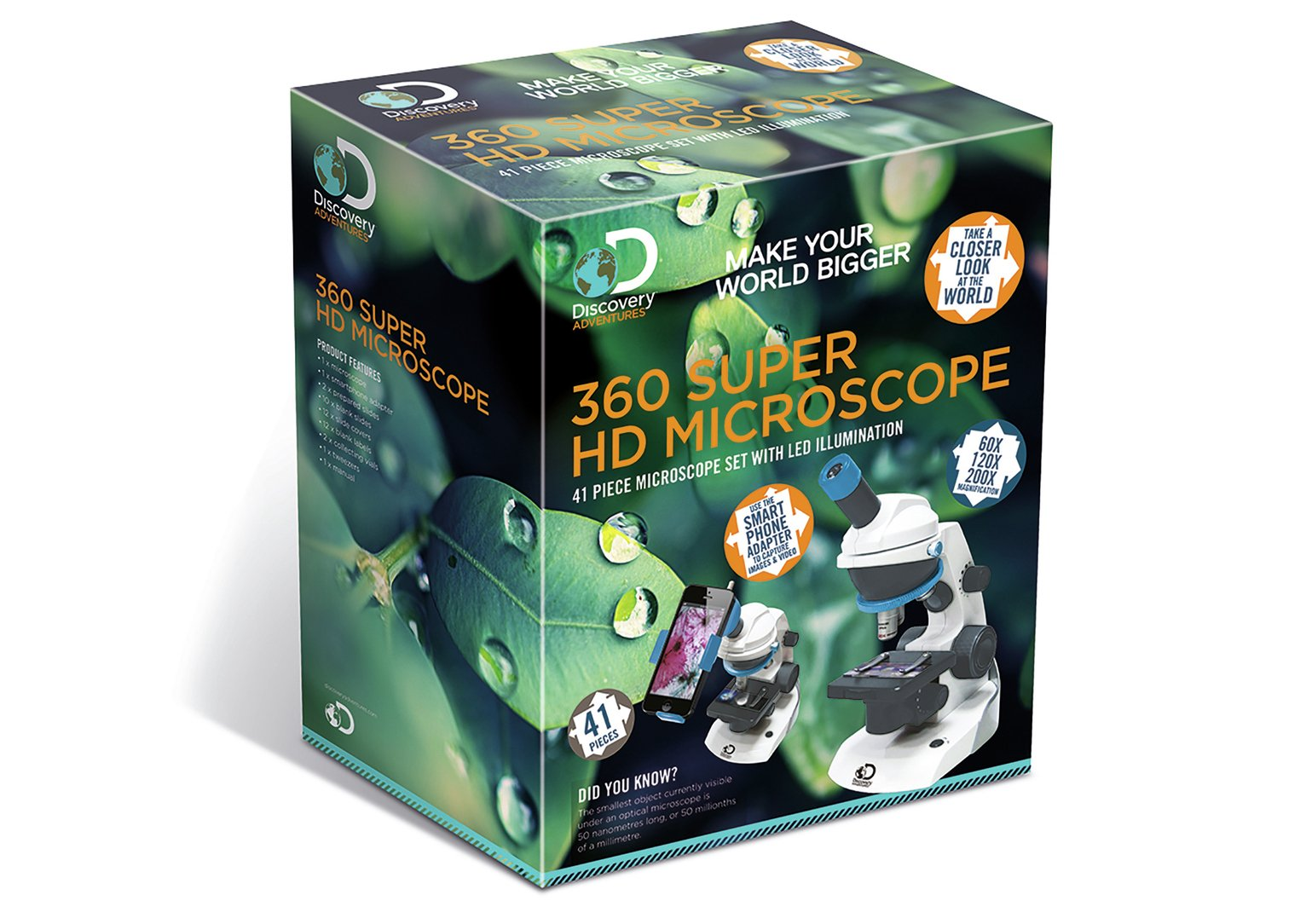 Image of Discovery 360 Super HD Microscope.